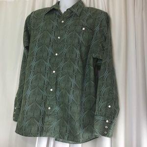 Patagonia Organic Cotton Men's Shirt Snap Front L